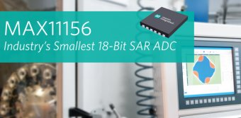 Industry's Smallest 18-bit SAR ADC