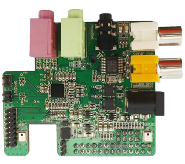 The Wolfson Audio Card for Raspberry Pi