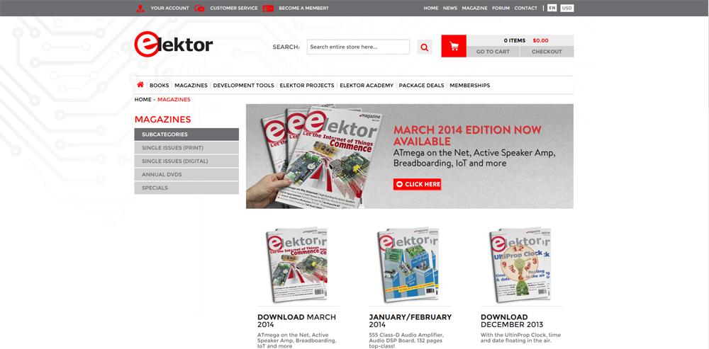 New Elektor.com Website Goes Live!