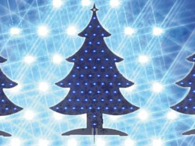 Elektor's Christmas e-Tree is Programmable and on USB