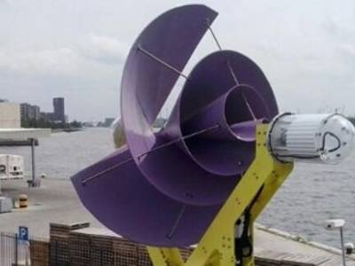 A Silent Wind Turbine For Urban Use