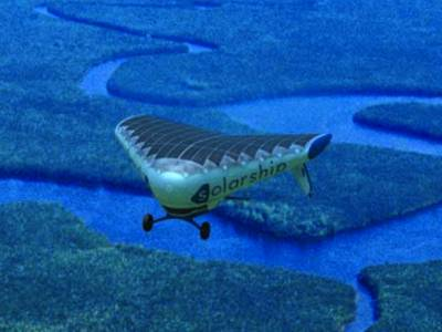 Solar Ship Needs No Fuel And No Infrastructure