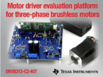 Motor driver kit targets low-power brushless motors
