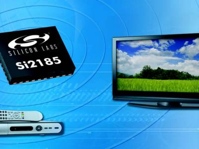 Industry's first single-chip hybrid TV receiver