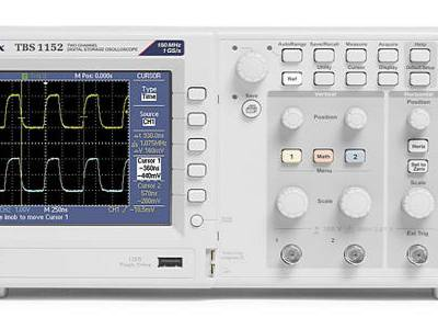 New Entry Level Oscilloscopes from Tektronix