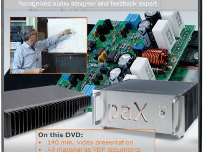 "15% Discount on DVD ""Masterclass Feedback in Audio Amplifiers"""