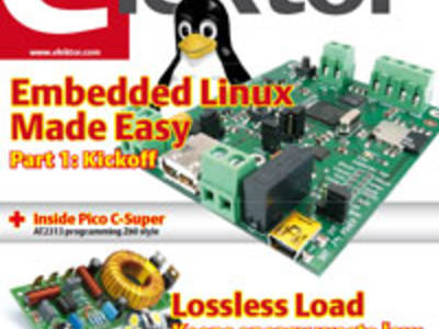 Elektor's May 2012 Edition on Sale Now