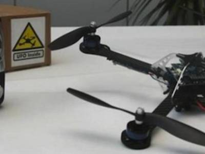 Quadcopters as Flying Power Stations