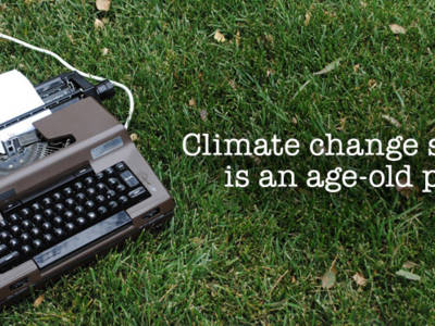 Climate Change Scepticism Is An Age-Old Problem