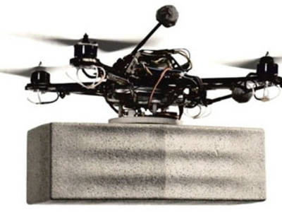 DroneNet: Decentralized Delivery System of Flying Robots