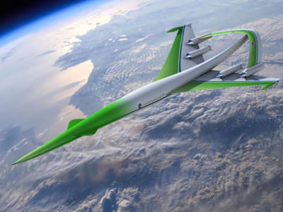 NASA and Lockheed Martin Unveil Fuel-Efficient Supersonic Aircraft Concept
