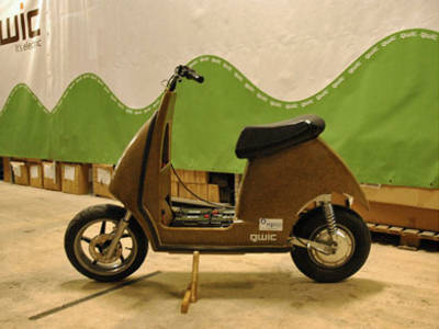 Exclusive: A close look at the Qwic Tulp Hempscooter