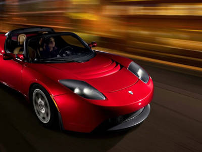 Tesla Roadster / Plug 'n' Party