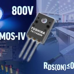 Toshiba's 800 V MOSFET