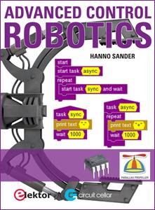 20% Pre-Order Discount on Elektor's Advanced Control Robotics Book
