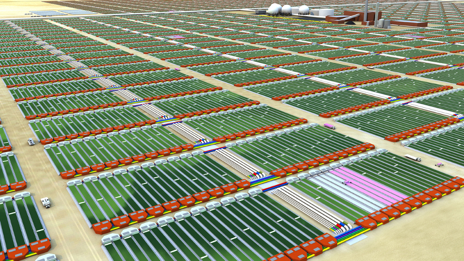 Schiphol Starts Algae Production