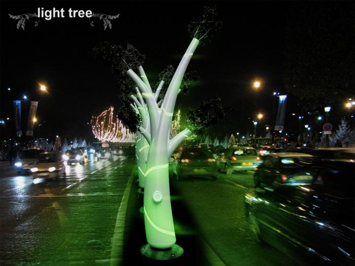 Organic LED Tree