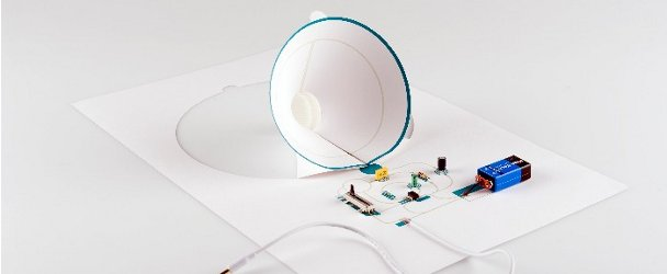 Paper Speaker Demystifies Electronics