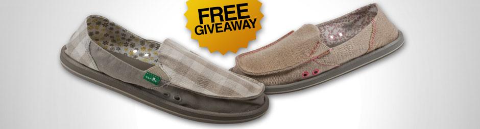 Free Giveaway: Sanük sandals!