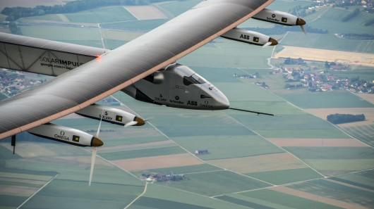 Solar Impulse 2 Takes Wing