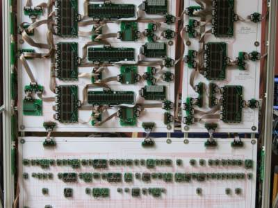 Record: 10-meter wide 16-bit megacomputer from discrete parts