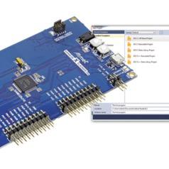 Atmel SAMD20 XPlained board and software