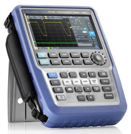 R&S portable oscilloscope boasts high-end performance
