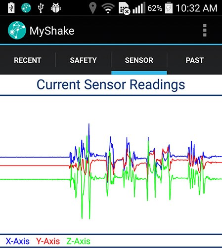 New app turns smartphones into a seismic network