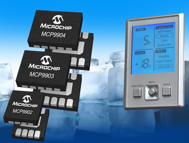 Accurate multi-channel temperature sensors