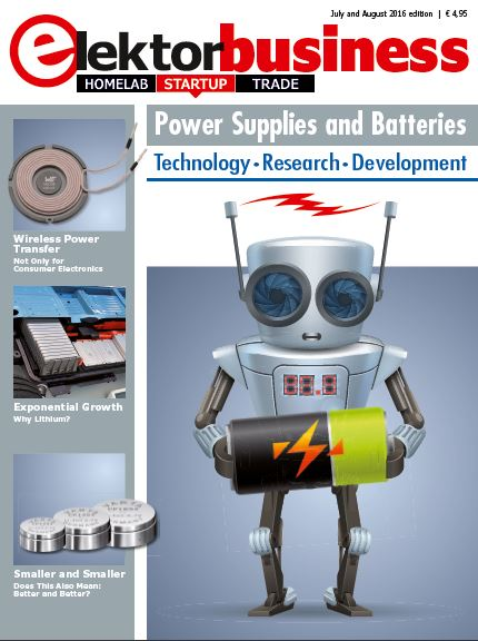 On Publication: Elektor Business Magazine, Power Supplies and Batteries