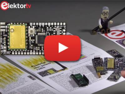 ElektorTV | eRIC Nitro, an Arduino-compatible two-way low-power radio controller board