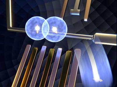 A bucket brigade for single electrons