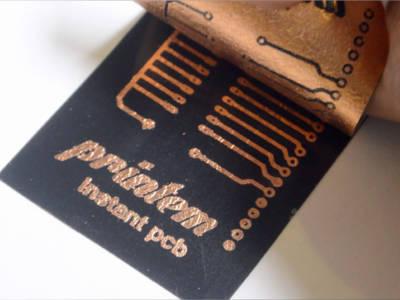 Speedy PCB production using an inkjet printer!