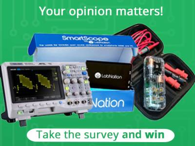 Participate in the Survey and win lab equipment!