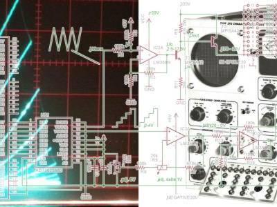 Emulate a Tektronix 570 vacuum tube curve tracer