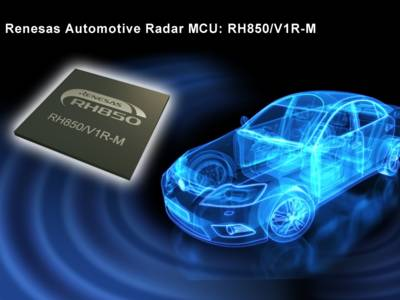 Automotive radar controller