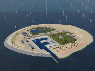 Power Link Island. Image: TenneT.