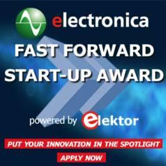 electronica Start-up Award powered by Elektor