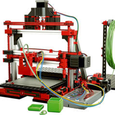 3D printer from Fischertechnik