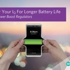 nanoPower boost regulator helps increase battery life