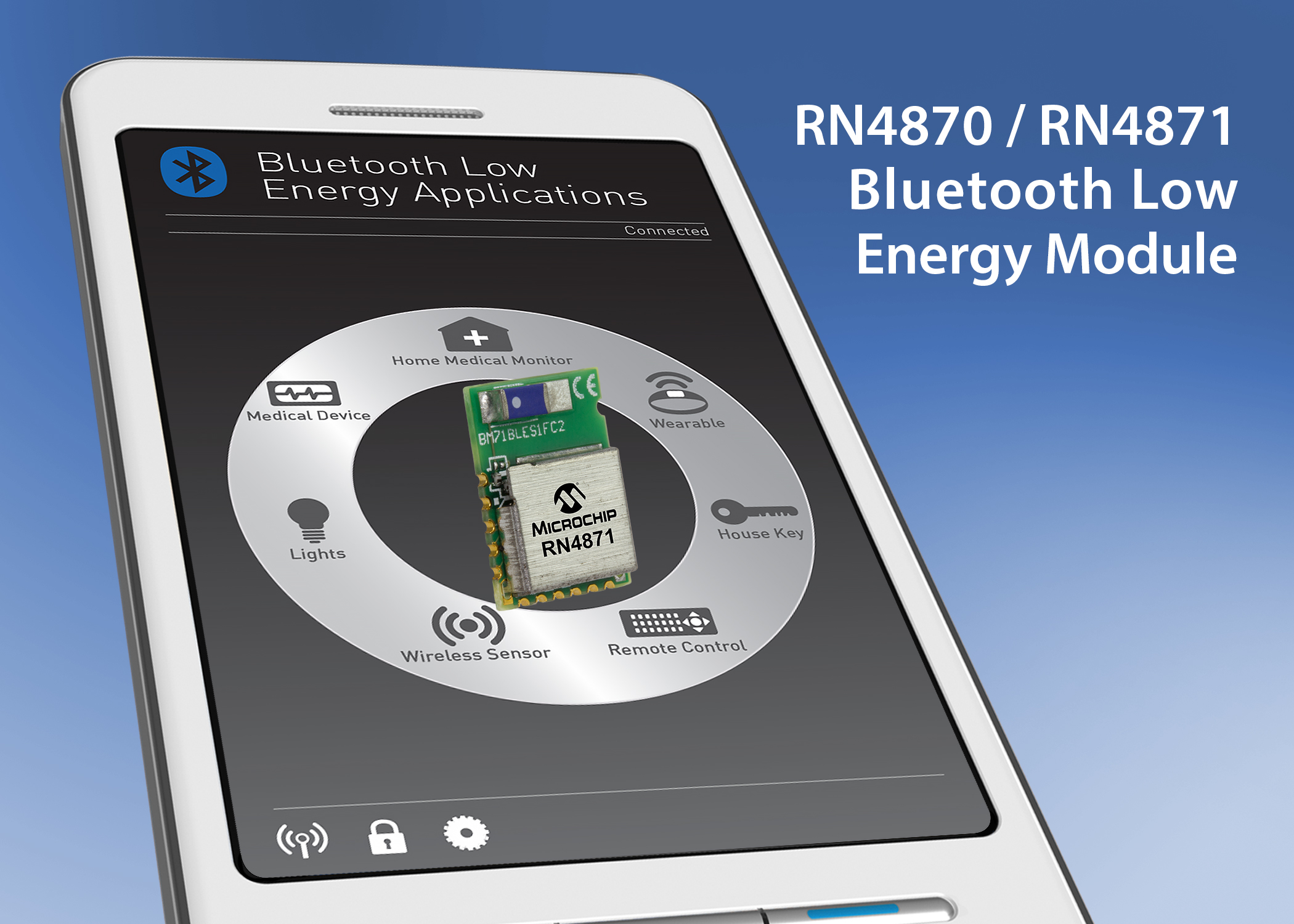 Bluetooth 4.2-modules from Microchip