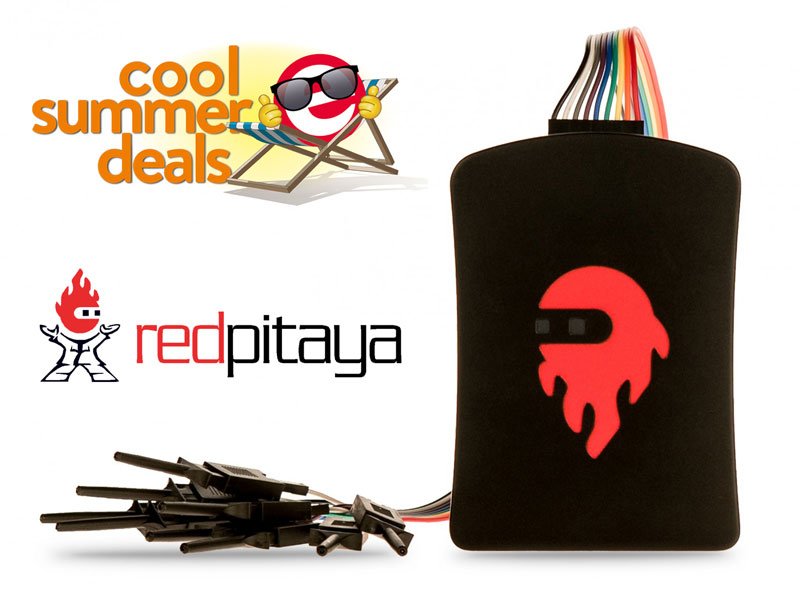 Brand-new Red Pitaya Logic Analyzer with substantial discount!