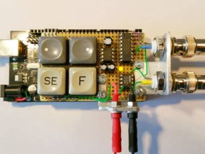 Project: voltage tracker for oscilloscope