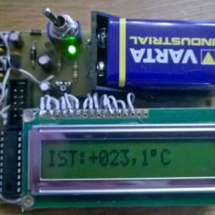 Post Project 57: Minimalist Max. / Min. Thermometer