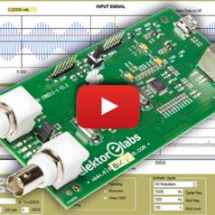 Elektor's Network Connected Signal Analyzer