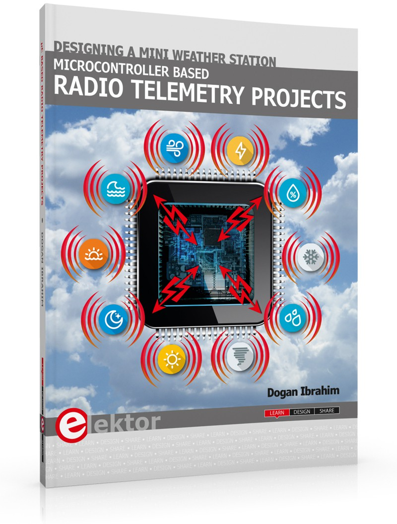 Now in Stock – Microcontroller Radio Telemetry Projects Book