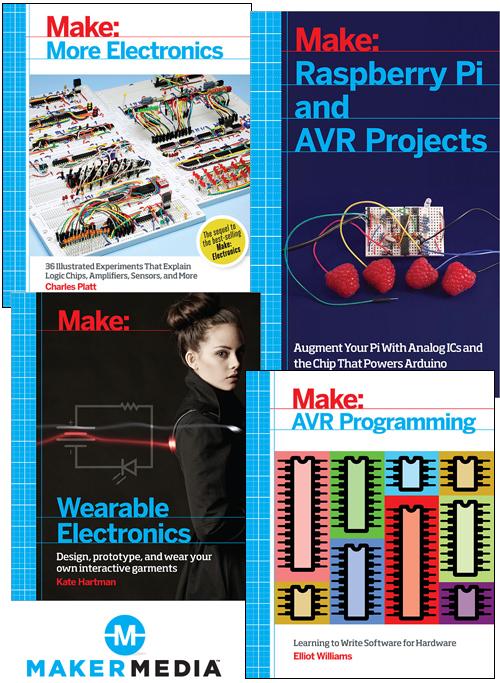 Maker Movement Books Arrive at Elektor Store