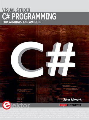 New Book from Elektor: C# Programming for Windows and Android