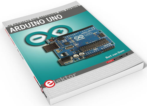 New Arduino and C++ Project book in the Elektor Store