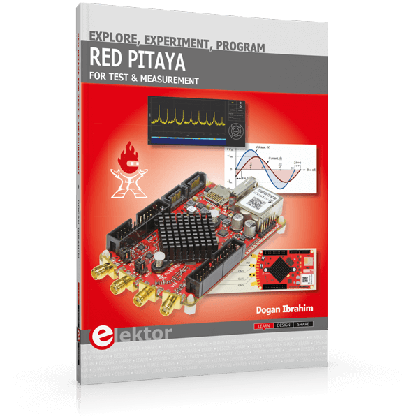 World's first Red Pitaya book now available from Elektor